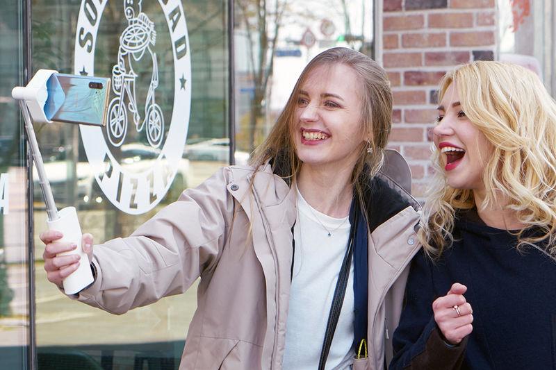 Face-Tracking Selfie Sticks