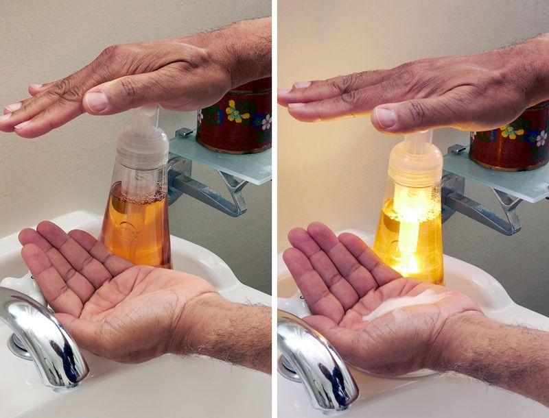 Illuminated Hand Washing Timers