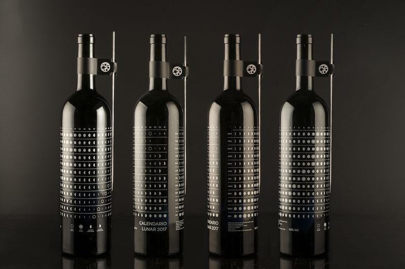 Lunar Calendar Wine Branding