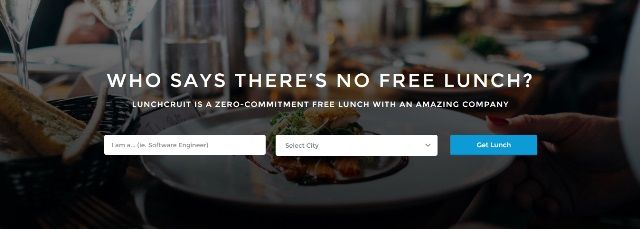 Food-Focused Recruiting Sites
