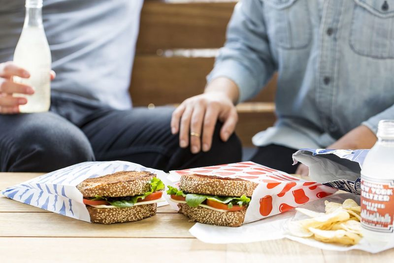 Compostable Sandwich Bags