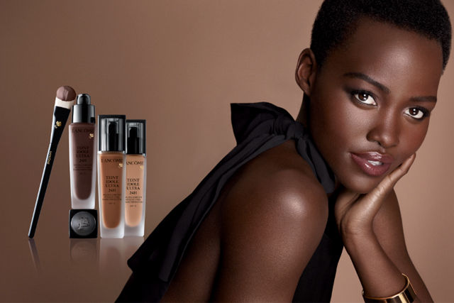 Dark-Skinned Beauty Ads
