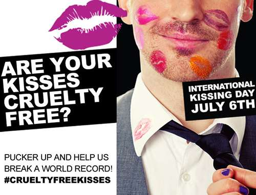 Lipstick Kiss-Collecting Campaigns