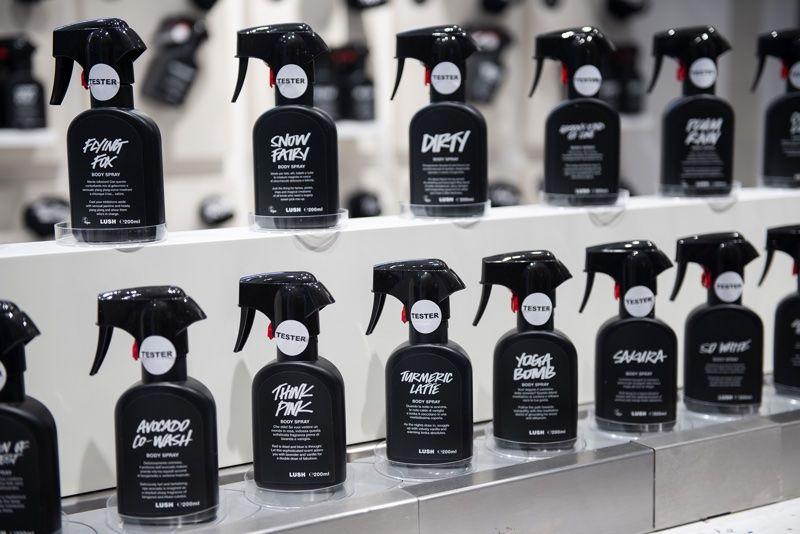 Festive Body Spray Pop-Ups