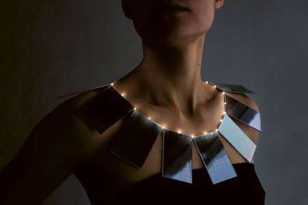 Solar Panel Necklaces