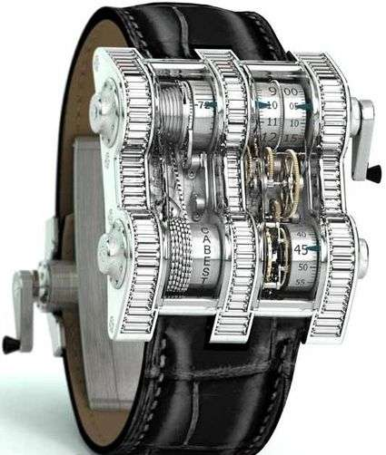 Steampunk Luxe Timepieces