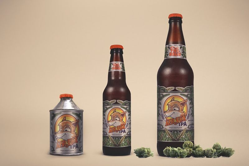 Fox-Branded Craft Brews