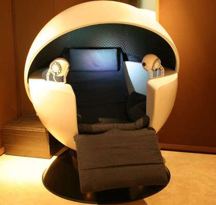 Pods Designed for Napping