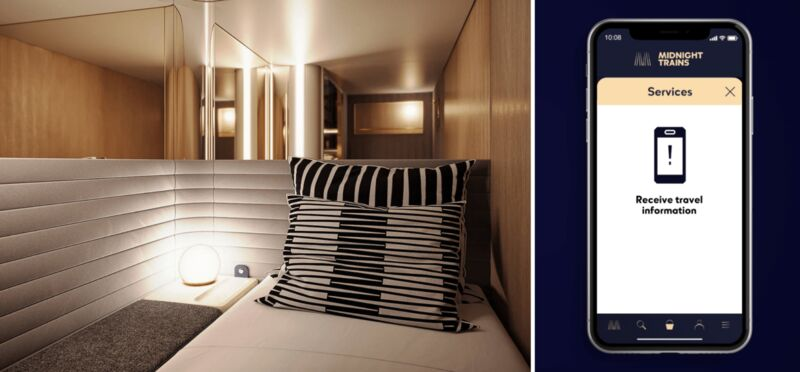 Hotel-Quality Sleeper Trains