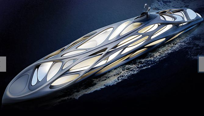 Organic Architectural Yachts Luxurious Yacht Design