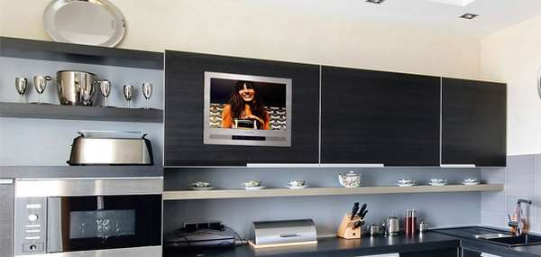 Kitchen Cabinet Televisions