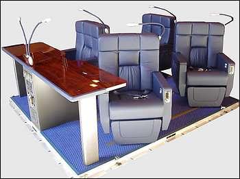Luxury Air Travel Capsules