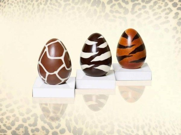 Wildly Patterned Chocolate Eggs