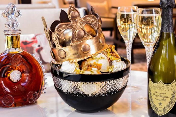 Opulent Ice Cream Sundaes