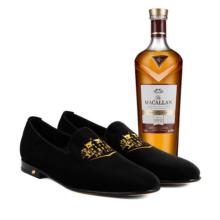 Whisky-Inspired Loafers