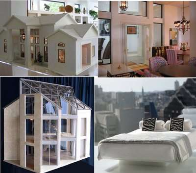 Personalized McMansion Dollhouses