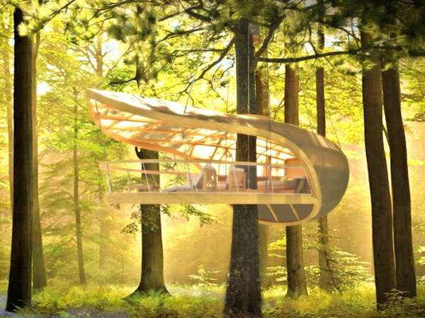 Luxury Modern Tree Houses