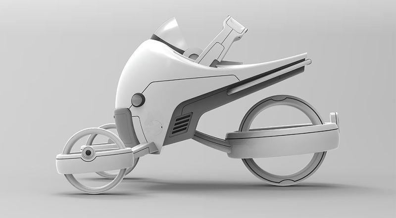 Futuristic Baby Carriers Luxury Pram