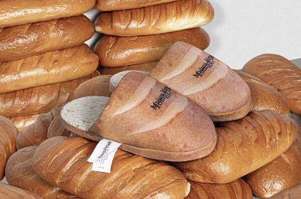 Bread-Like Luxury Slippers