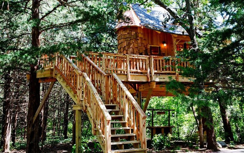 adult oriented treehouses