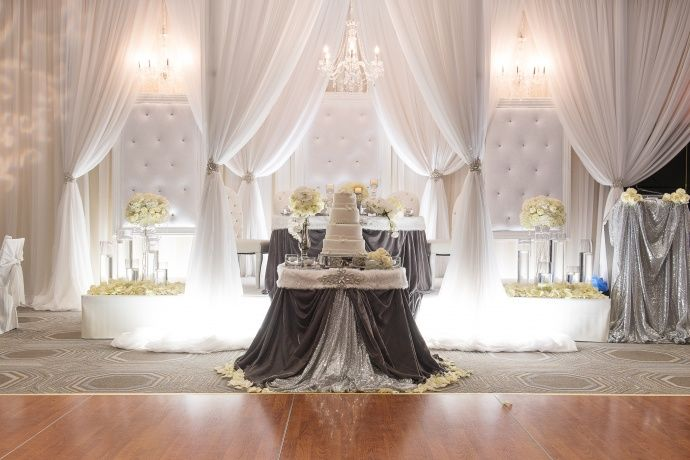 Dazzling Wintry Weddings Quot Luxury Wedding Decor Quot
