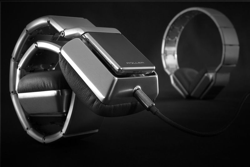Rolling Pocket-Sized Headphones