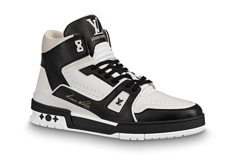 Monochromatic Vintage Luxe Sneakers