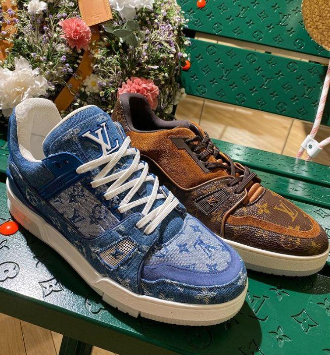 Reworked Denim Luxe Sneakers