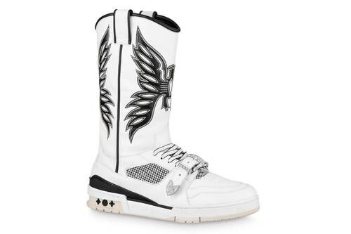 Western-Inspired Luxe Sneaker Boots