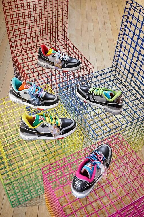 Upcycled Luxe Vibrant Sneakers