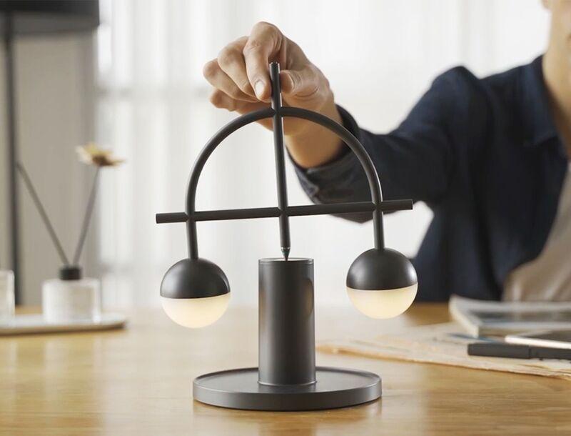 Balancing Continuous Motion Lamps