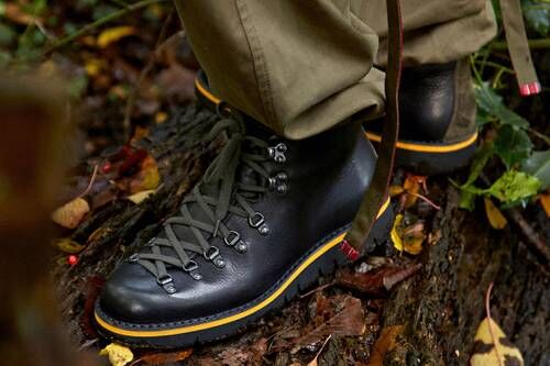 Eco-Friendly Leather Hiking Boots