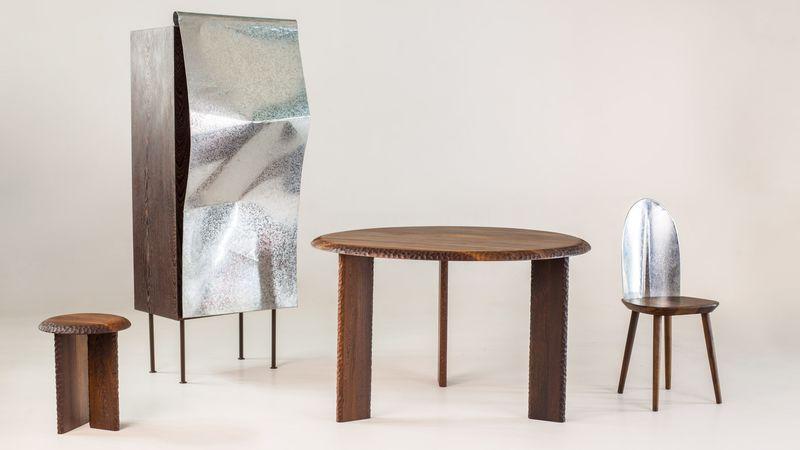 Waste Metal Furniture
