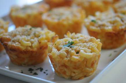 Savory Macaroni Cupcakes