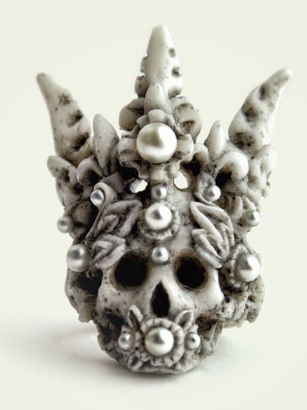 Opulent Skull Adornments