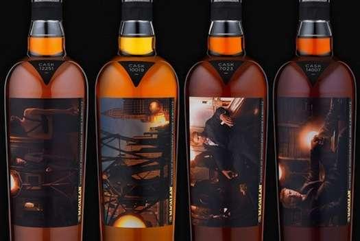 Artistic Whisky Bottles