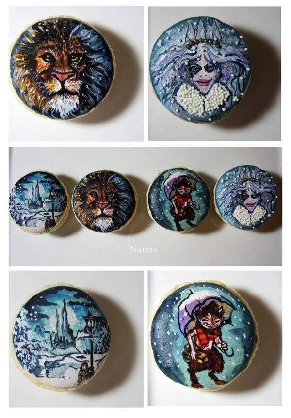 Literary Macaron Designs