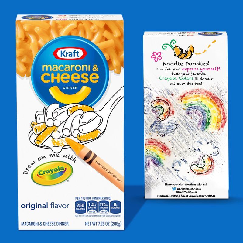 Color-In Macaroni Boxes