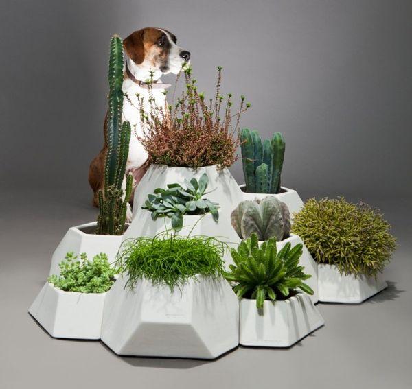 Modular Mountainous Planters