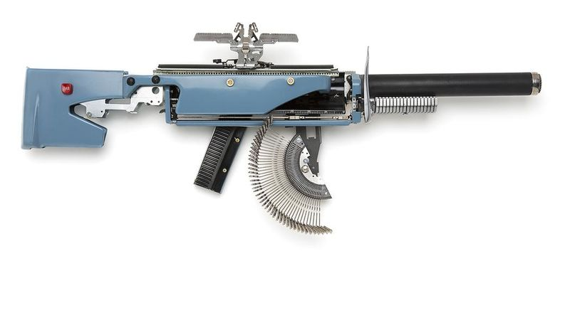 Machine Gun Typewriters