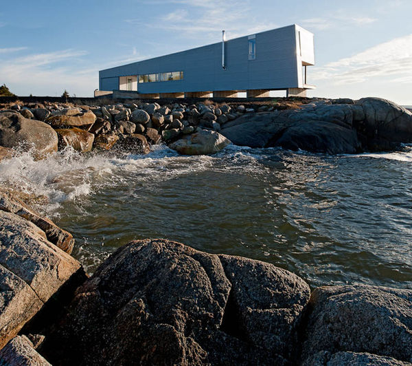 Wave-Resistant Homes