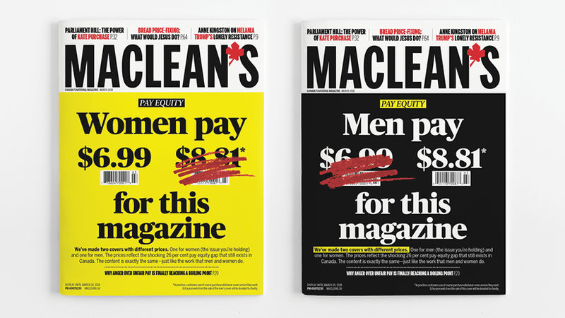 Wage Gap Magazines