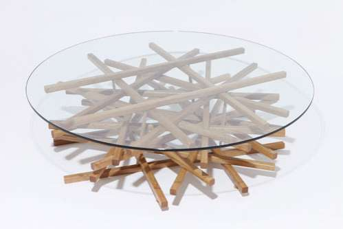 Sculptural Wood Furniture