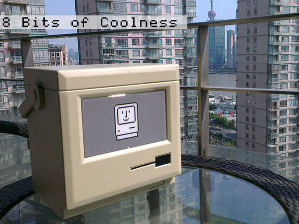 Nosalgic Computer-Shaped Coolers