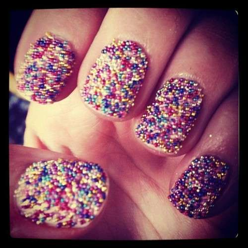 Textured Manicure Sprinkles Mad Beauty