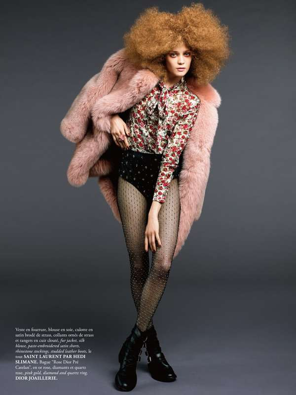 Artistic Huge Hair Editorials