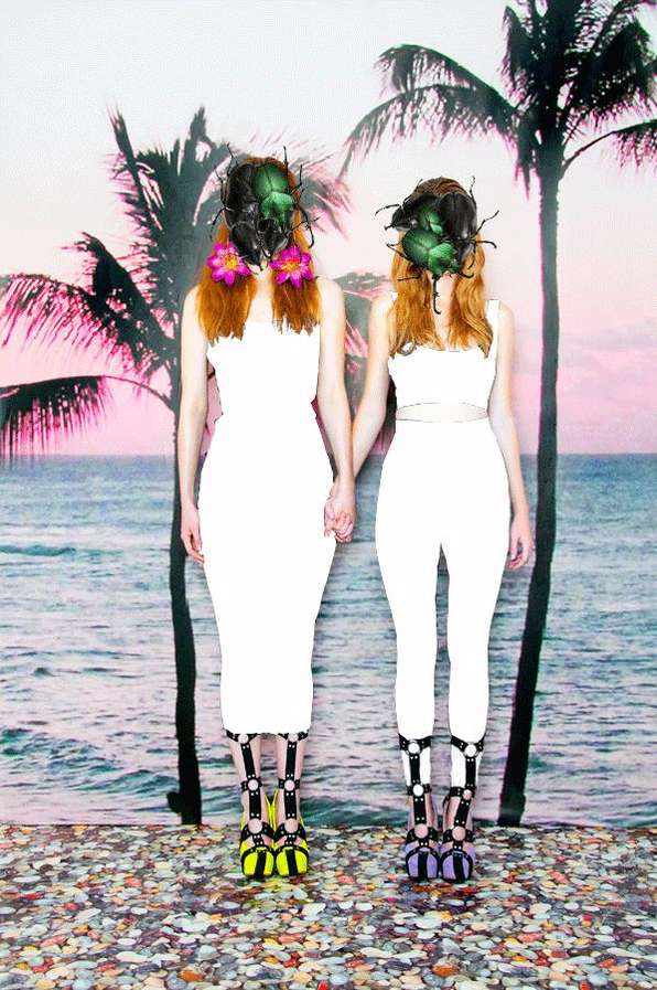 Tropical Goth Lookbooks