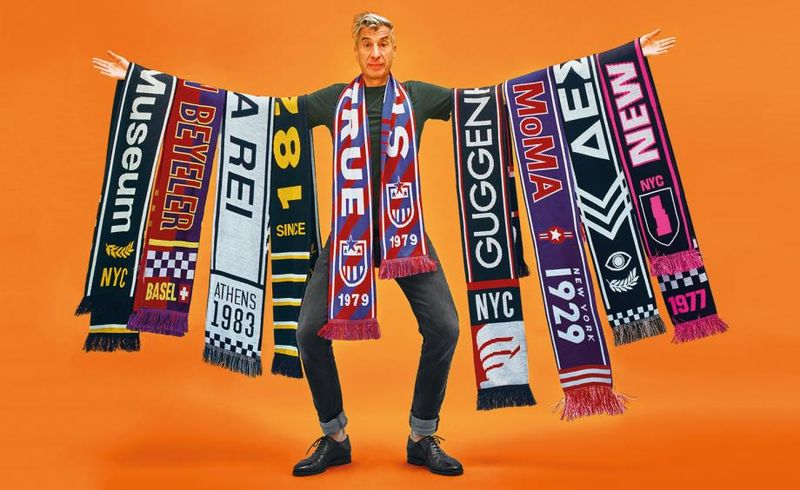 Football-Inspired Museum Scarves