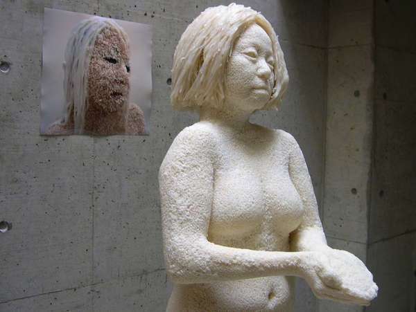 Life-Sized Grain Sculptures