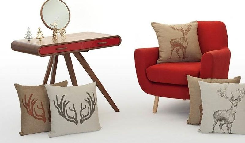 Adorable Antlered Cushions